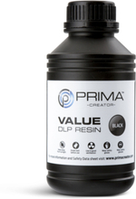 PrimaCreator Value UV / DLP Resin 500 ml Svart