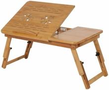 eStore Laptopbord/Sengebord - Bambus