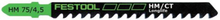 Festool HM 75/4,5 Sticksågsblad
