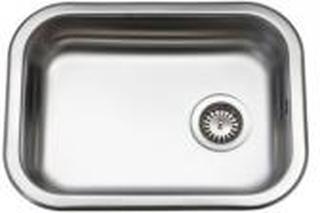 Juvel køkkenvask 480x340mm med strainer, mat K480