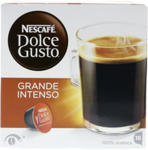 Dolce Gusto Caffe Grand Intenso kaffekapslar, 16 port