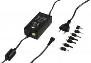 Universal Ac Power Adapter 3 / 4.5 / 5 / 6 / 7.5 / 9 / 12 VDC 2.25 A Sort