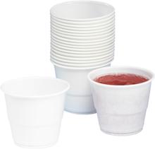 Plastbägare Insats Combi 21cl vit, 80 st