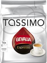 Gevalia Tassimo Espresso kaffekapslar, 16 port