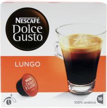 Nescafé© Dolce Gusto Lungo kaffekapslar, 16 port