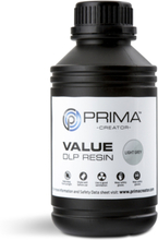 PrimaCreator Value UV / DLP Resin 500 ml Ljusgrå