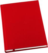 Anteckningsbok Grieg Design inb A5 linjerat röd