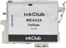 inkClub Blekkpatron, erstatter Epson T0554, gul, 290 sider