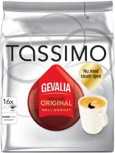 Gevalia Tassimo Mellanrost kaffekapslar, 16 port
