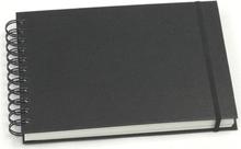 Skissblock GRIEG A5 liggande 150g svart
