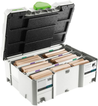 Festool DS/XL D12/D14 BU DOMINO Systainer bok, 128 stycken