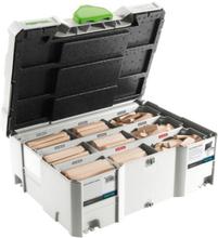 Festool DS/XL D8/D10 BU DOMINO Systainer bok, 306 stycken