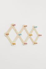H & M - Knaggrekke i tre - Hvit