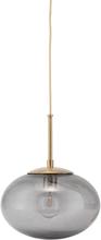 Opal Taklampa Grå/Mässing 22 cm