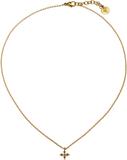 Windsor halsband matt guld