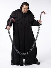 Blodig kødkrog med kæde