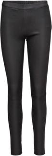Pants Leather Leggings/Bukser Sort DEPECHE