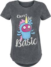Ugly Dolls - Dont Be Basic -T-skjorte - grå