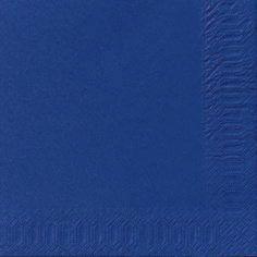 Servietter 3-lags Duni mørkeblå 33cm 1000stk/kar