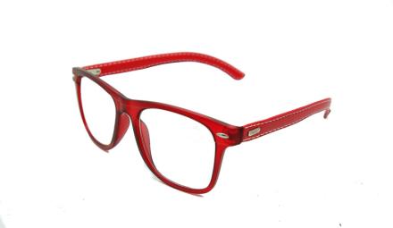 Cavok Läsglasögon med grad A lins 1.5, Röd