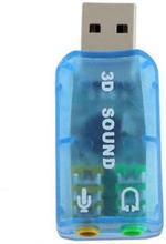 Externt Ljudkort USB 3D 5.1CH