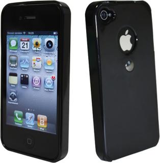 TETRAX iPhone 4_4s skal svart Magnet i skalet