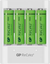GP Batteries ReCyko USB411 1300mAh USB-laddare