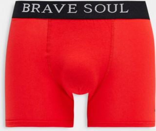 Brave Soul 3 pack boxers with contrast waistband-Multi