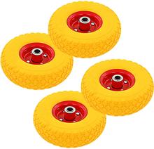vidaXL Hjul till säckkärra 4 st gummi 3.00-4 (260x85)