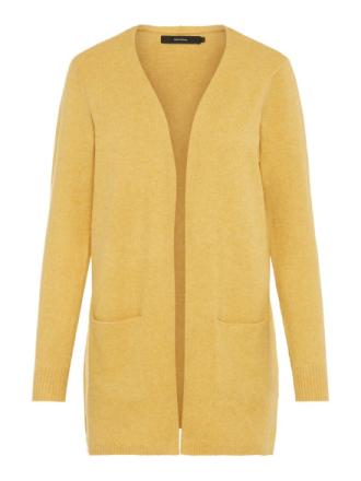 VERO MODA Knitted Cardigan Women Yellow