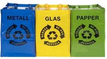 Återvinningspåsar 3-pack