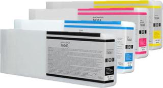 Epson T6361/T6362/T6363/T6364 combo pack 4 stk - Kompatibel - BK/C/M/Y 2800 ml