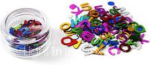 80pcs Glittle Letters design Nail Art Koristeet