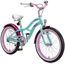 BIKESTAR® Premium Lasten polkupyörä 20'', piparminttu - turkoosi