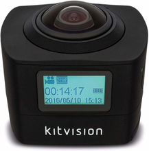 KITVISION Action Kamera Immerse 360 Panorama FHD 1440P WiFi