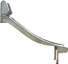 Edelstahlrutsche Rutschen Spielgeräte 150cm