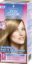 Schwarzkopf Poly Color Tonings-Shampoo, 15 - Mellanblond, Schwarzkopf Toning