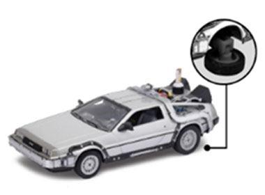 Modellbil Back to the Future II Diecast Model 1/24 ´81 DeLorean LK Coupe Fly Wheel
