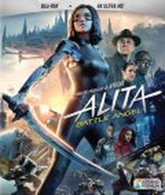 Alita: Battle Angel - 4K Ultra HD + Blu-ray