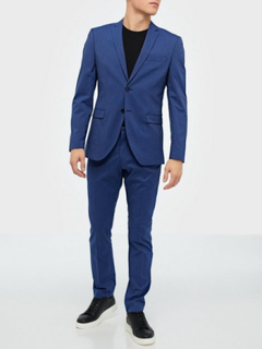 Selected Homme Slhslim-Mylologan Insig. Blue Blazere & jakkesæt
