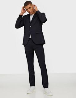 Selected Homme Slhslim-Mylobill Navy Blazere & jakkesæt