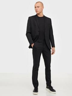 Selected Homme Slhslim-Mylostate Black Blazere & jakkesæt