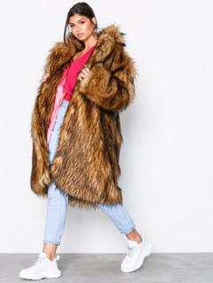 Svea Marble fur jacket