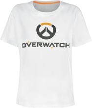 Overwatch - Logo -T-skjorte - hvit
