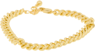 Pcnibe Basic Bracelet D2d Plated Accessories Jewellery Bracelets Chain Bracelets Gull Pieces