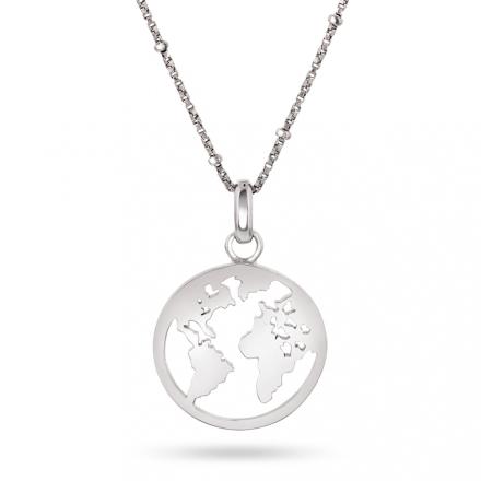 Verdenssmykke i sølv