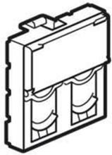 Dble keystone adapt. rj45 2m