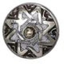 Noosa petite Chunk Guardian Angel - Star white/silver-powderstone/white metal