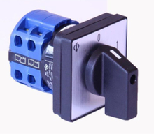 3 pole switch 0-1 for panel mounting 20a ca10 a202-600 e