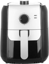 EMERIO AF-123543 Varmlufts/-frituregryde 1400 W BPA-fri, Trinløs temperaturregulator, Timerfunktion, Indikatorlys Sort